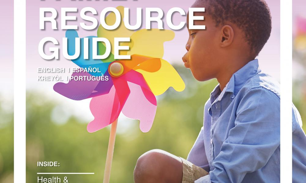 Family Resource Guide: 2018-2019 Cover